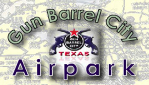 Gun Barrel City Airpark 1 Logo CedarCreekLake.Online