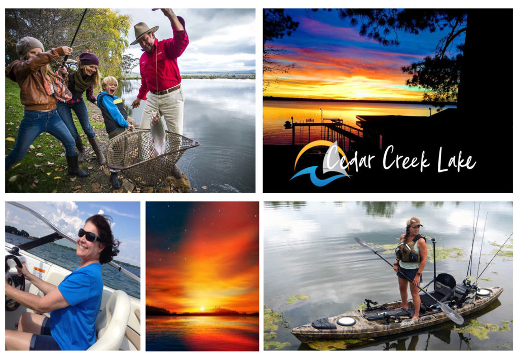 Cedar Creek Lake Online image collage