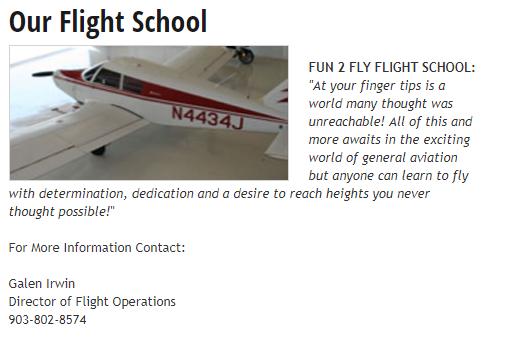 Gun Barrel City Airpark 4 update 2 CedarCreekLake.Online
