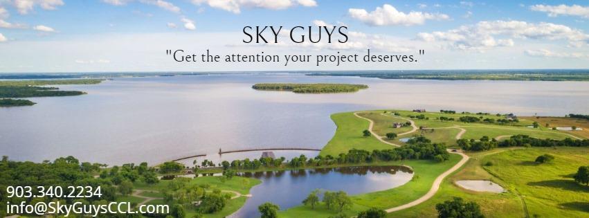 Sky Guys on Cedar Creek Lake