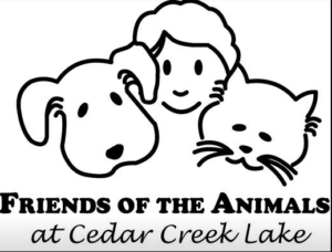 Friends of the Animals-Cedar Creek Lake 1 logo 1 4