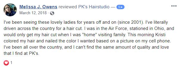 PK's Hair Studio 2 Capture CedarCreekLake.Online