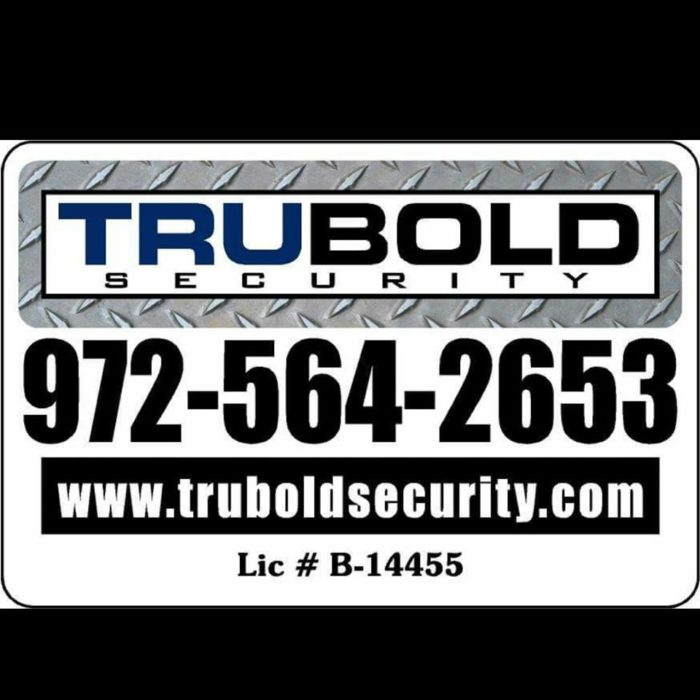 TruBold Security