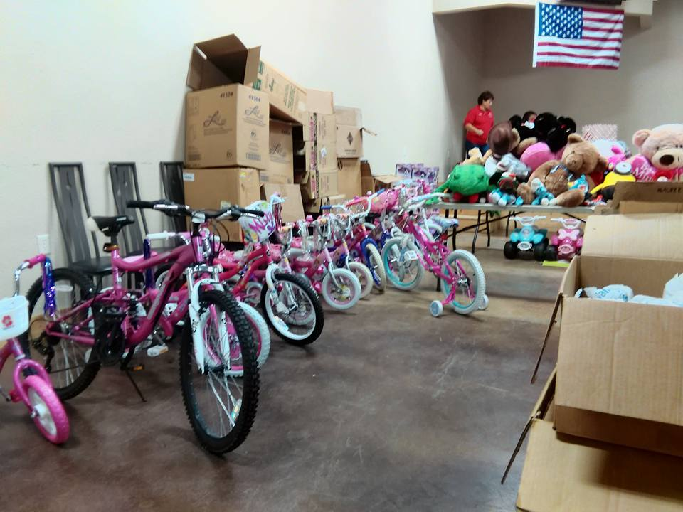 Gun Barrel City Toys for Tots