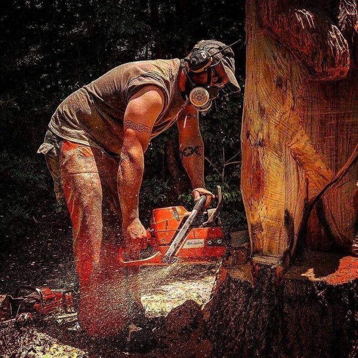 Chainsaw Artist Chad Kilpatrick to perform live carving and Prize Give Away June 8 Cedar Creek Expo