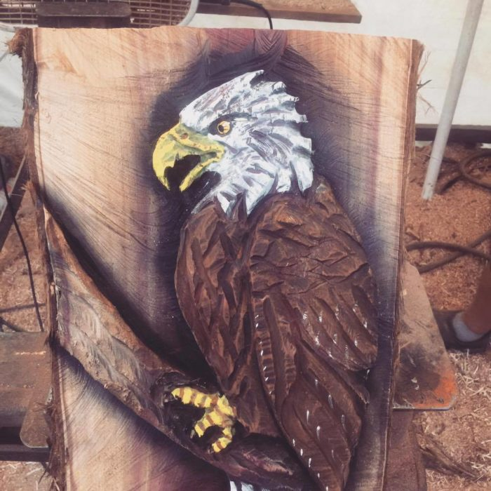 Chainsaw Artist Chad Kilpatrick to perform live carving and Prize Give Away June 8 Cedar Creek Expo 3 chainsaw6 CedarCreekLake.Online