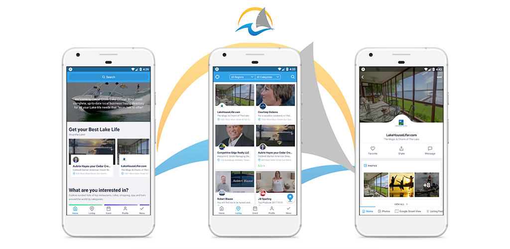 CedarCreekLake.ONLINE Releases New, Free Mobile App for iPHONE and Android Devices 9 mobile splash multi 3 CedarCreekLake.Online