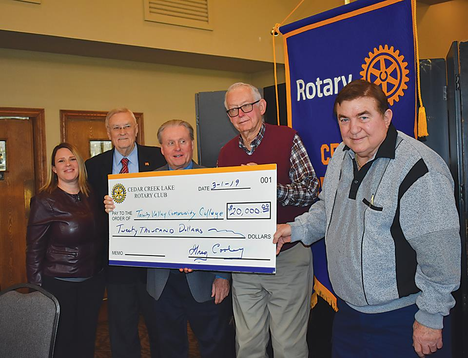 Rotary Club Cedar Creek Lake