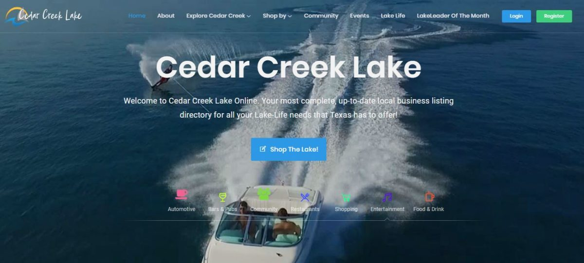 E-VENTS Center of Cedar Creek partners with Hughes Satellite dealer AllPro Comms for Cedar Creek Summer Lake Living Expo 3 Home Page Image