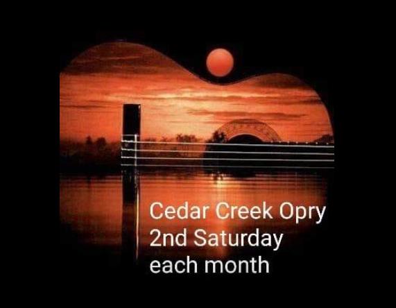Cedar Creek Opry Upgrades Venue to E-VENTS Cedar Creek 1 cedar creek opry logo