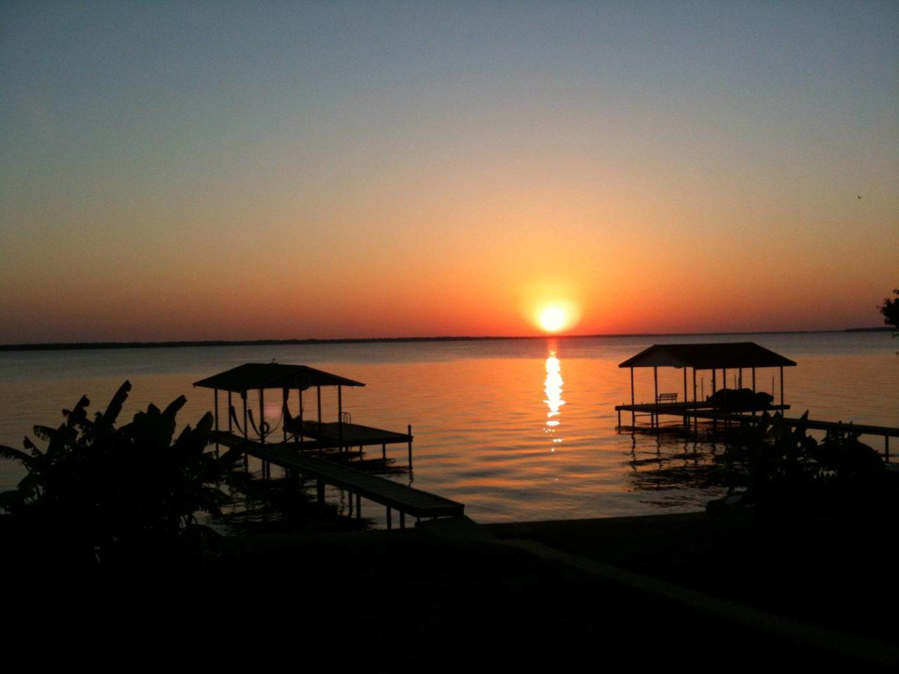 Terri Gregory-Johnson & Monroe Cedar Creek Lake