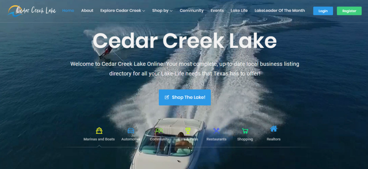 CedarCreekLake.Online to Release New RealtyPlus Features adding MLS Listings