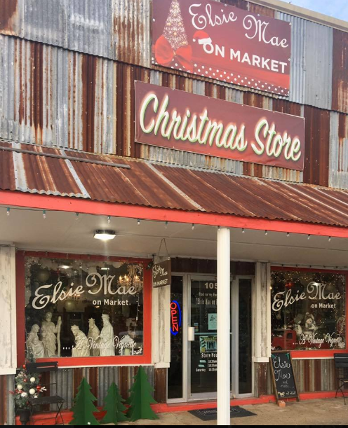 Mabank Market Street - December Lake Leader of the Month 13 Elsie Mai Christmas store CedarCreekLake.Online