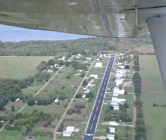 Gun Barrel City Airpark - January 2020 Lake Leader of the Month 1 3 5 CedarCreekLake.Online
