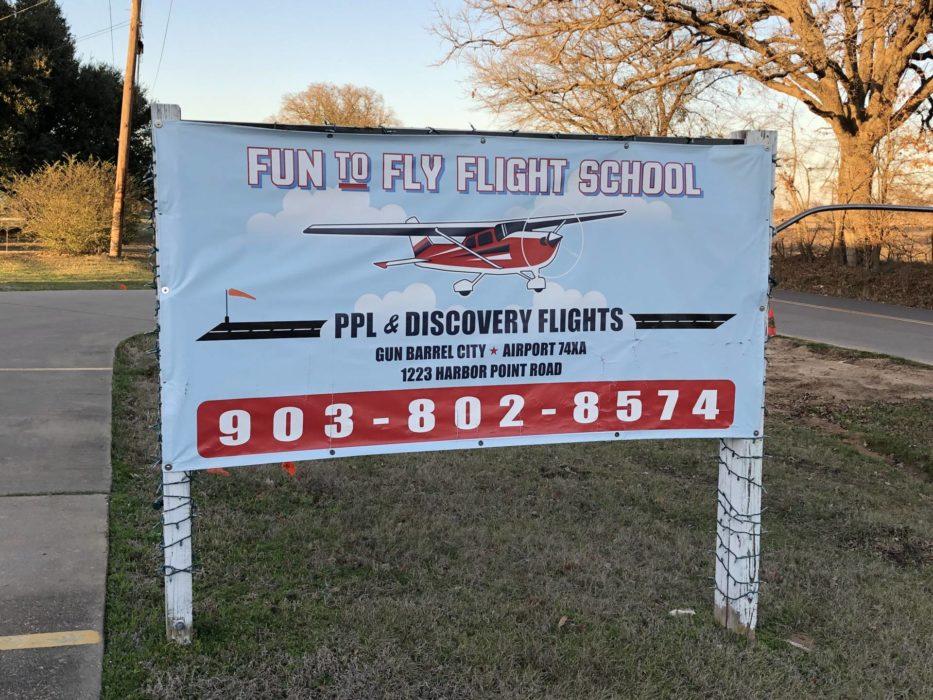 Gun Barrel City Airpark - January 2020 Lake Leader of the Month 4 4 2 CedarCreekLake.Online