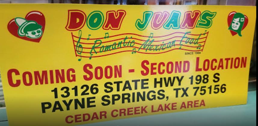 Don Juan's Romantic Mexican Food 1 14 CedarCreekLake.Online