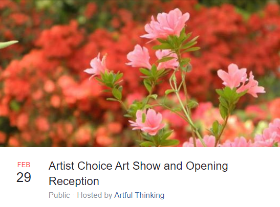 Artist Choice Art Show and Opening Reception