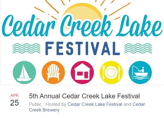 5th Annual Cedar Creek Lake Festival