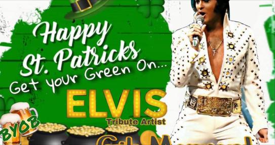 Happy St. Patricks with Elvis