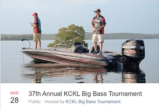 37th Annual KCKL Big Bass Tournament