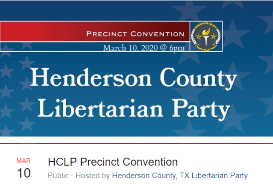 HCLP Precinct Convention