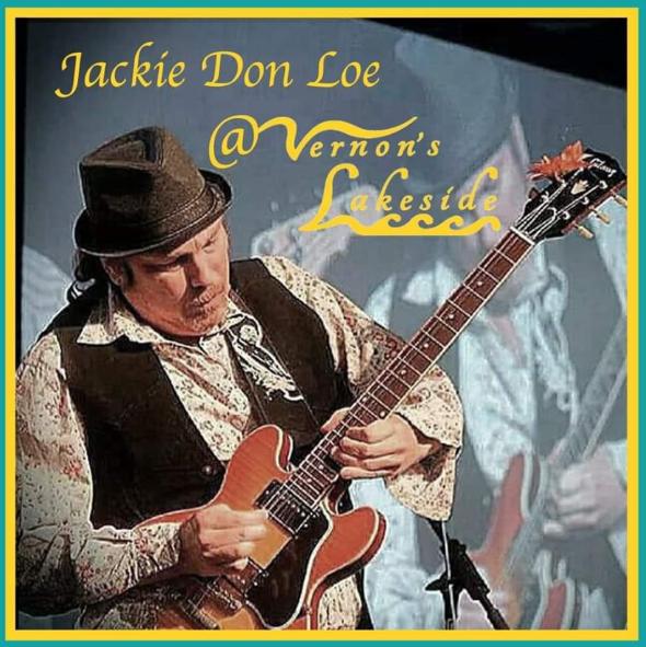 Jackie Don Loe at Vernons