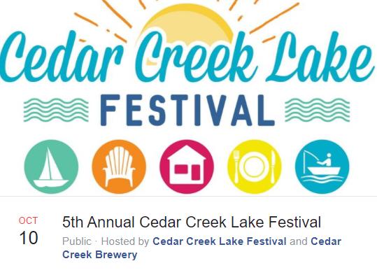 Cedar Creek Lake Festival