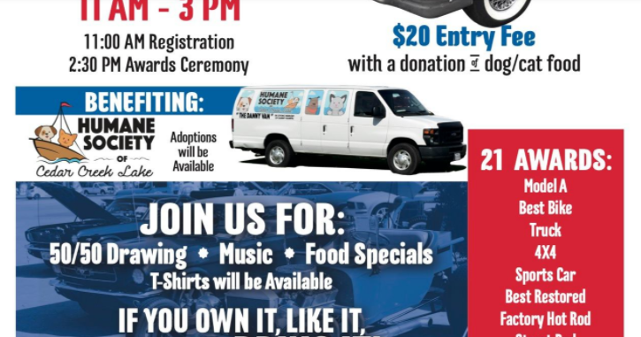 18th Annual Open Auto Show CCL Humane Society
