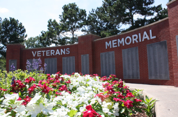 Veterans Day Ceremony at East Texas Arboretum