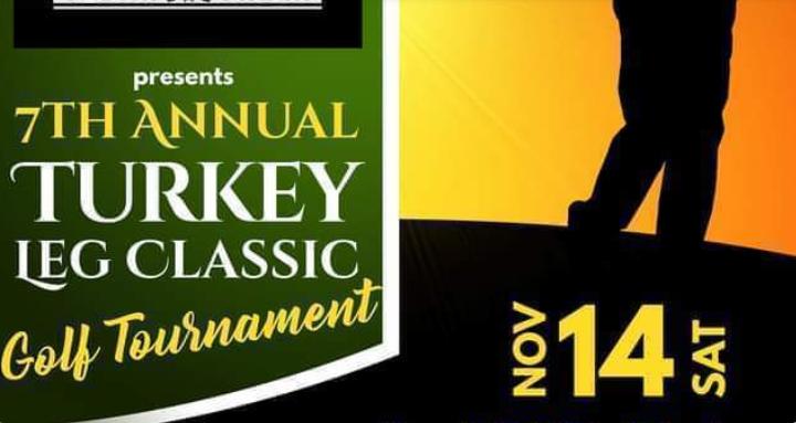 golf tournament poster in november