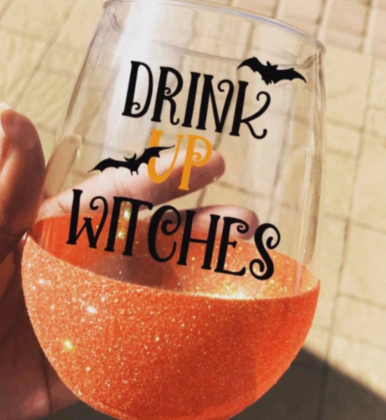 Witchy Wine Glass Craft Party