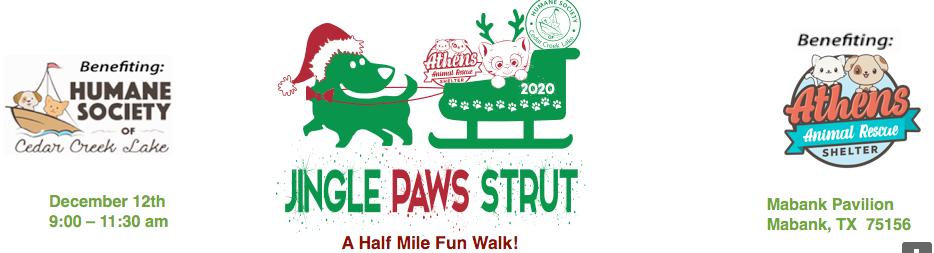 Jingle Paws Strut