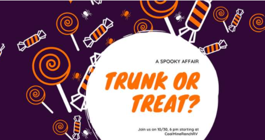 Trunk or Treat at Cool Mine Ranch