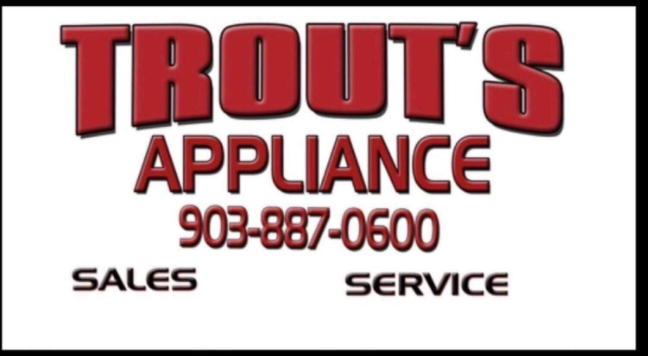 Trout's Appliances:  Your November 2020 LakeLeader of the Month! 1 trout logo2 CedarCreekLake.Online