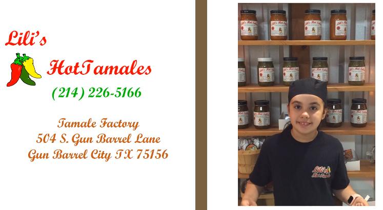 lili's hot tamales card