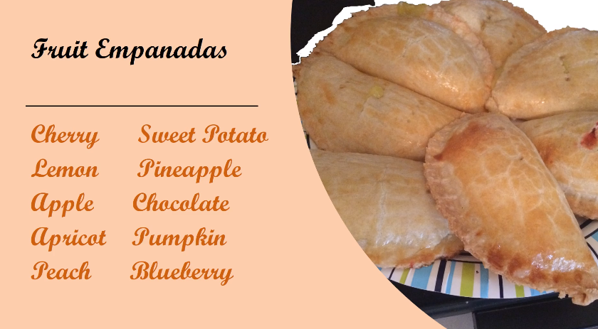 fruit emapanada flavors