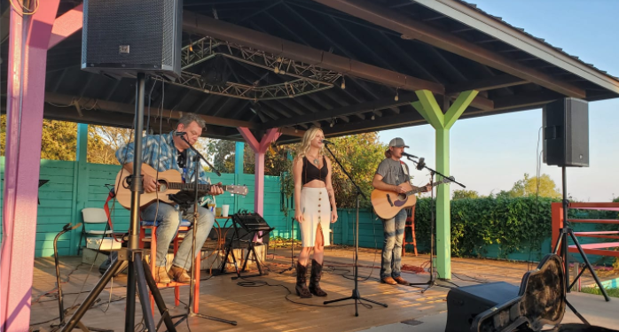 Brooklyn Rhea and Daniel Trio at Vernon's Lakeside