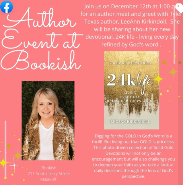 Author Event at Bookish with Leeann Kirkindoll