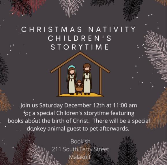 Christmas Nativity Children's Storytime at Bookish