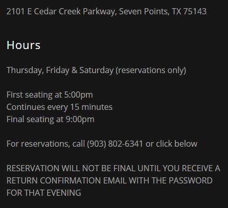 V's Steakhouse 2 5 CedarCreekLake.Online