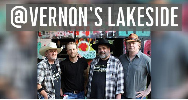 Whiskey Hat Live at Vernon's Lakeside 1 whiskey hat at vernons CedarCreekLake.Online