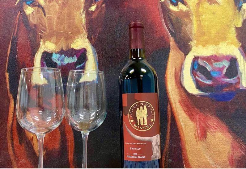 Weekending Year Round at a Cedar Creek Lake VRBO 5 triple n winery art2 1 CedarCreekLake.Online