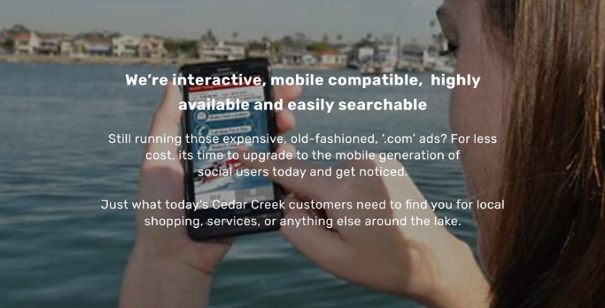 Introducing CedarCreekLake.Online