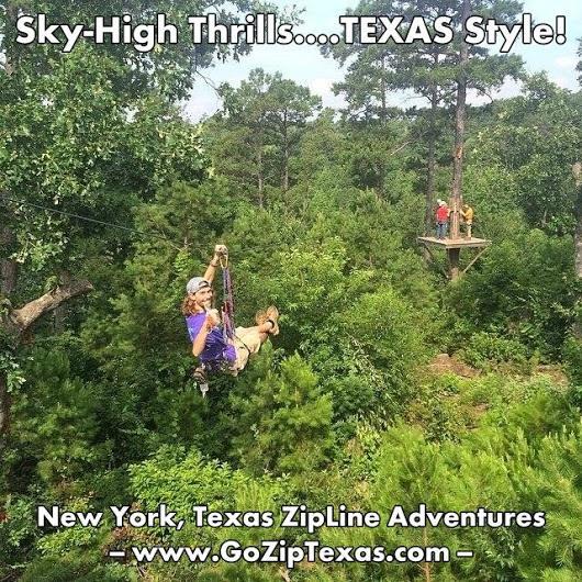 New York Texas Zipline Adventures